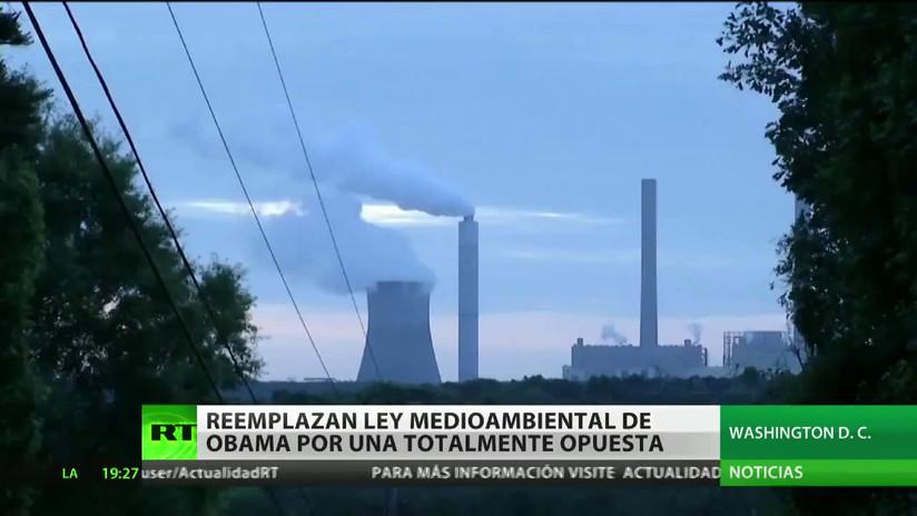 EE.UU. reemplaza la ley medioambiental de Obama por una totalmente opuesta