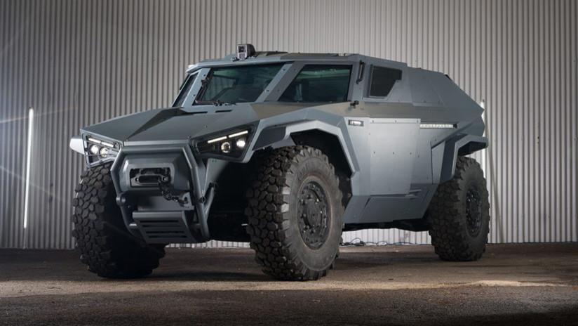 FOTOS: Volvo desarrolla un vehículo blindado que se mueve como un 'cangrejo'