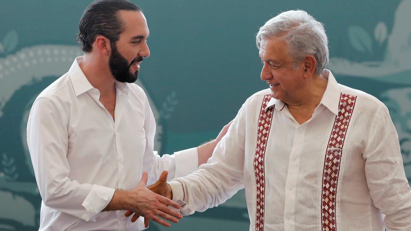López Obrador y Bukele firman el acuerdo para implementar el plan de desarrollo de Centroamérica