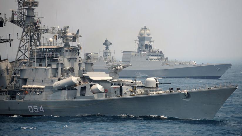FOTOS: India despliega buques de guerra en el golfo Pérsico en medio de la creciente tensión entre EE.UU. e Irán