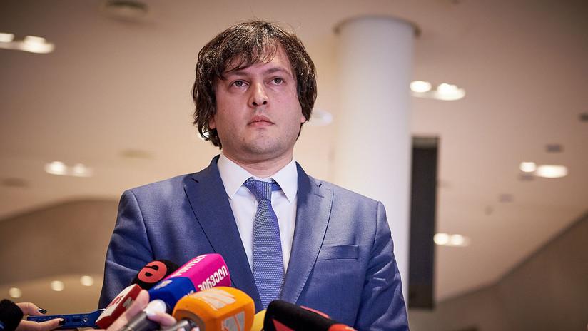 El presidente del Parlamento de Georgia dimite en medio de las protestas antigubernamentales