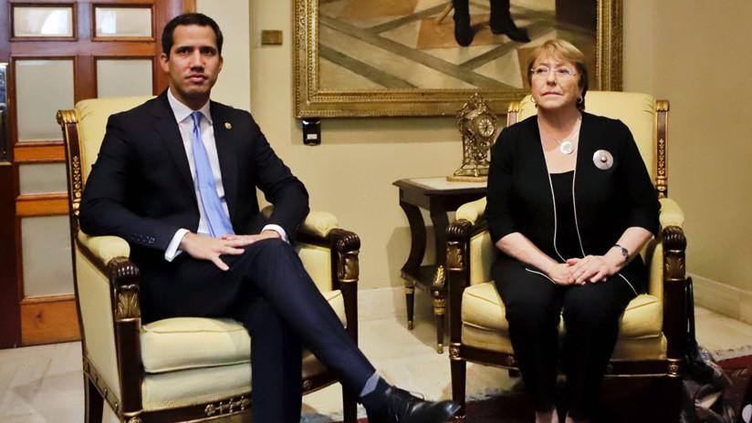 Bachelet se reúne con Guaidó en su último día de visita en Venezuela
