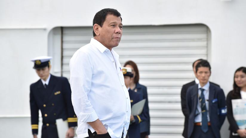 """Duterte a China: """"Si se puede reclamar un océano como propio díganmelo ahora para reclamar el mío"""""""