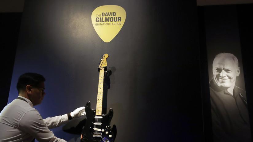 David Gilmour subasta sus guitarras y recauda 21 millones de dólares para combatir el cambio climático