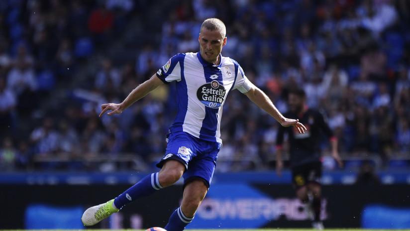 VIDEO: Futbolista español termina con 70 puntos en el labio tras disputar un balón en pleno partido