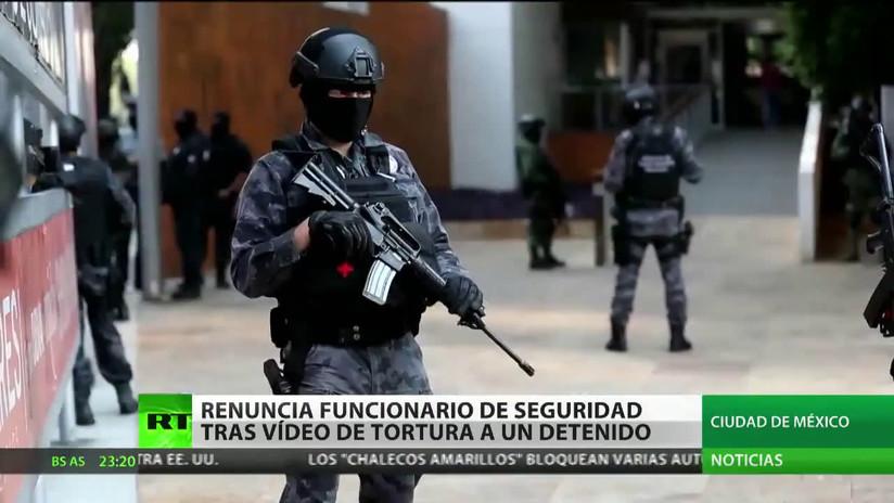 En México renuncia un funcionario de Seguridad Pública tras la difusión de un video de tortura a un detenido en el caso Ayotzinapa