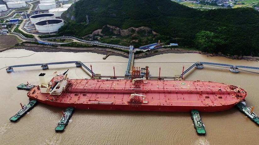 VIDEO: China presenta el primer megaportador de crudo inteligente del mundo