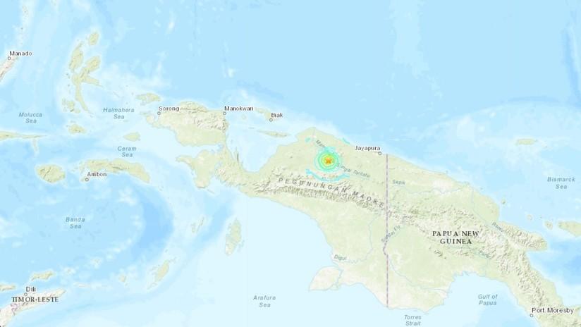 Un terremoto de magnitud 6,1 se registra en Indonesia