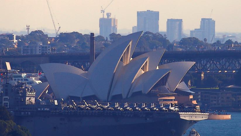 Australia planea secretamente construir un nuevo puerto para albergar a la Marina de EE.UU.