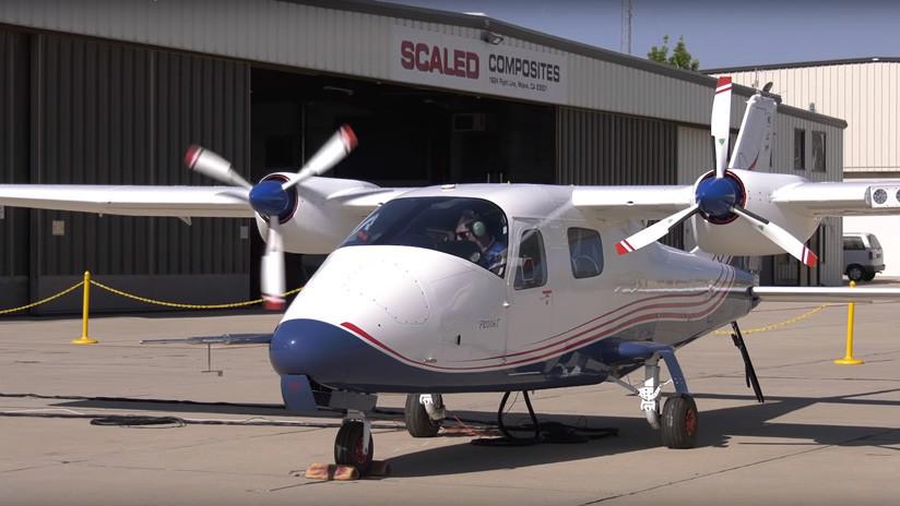 VIDEO: El avión eléctrico X-57 de la NASA calienta motores por primera vez
