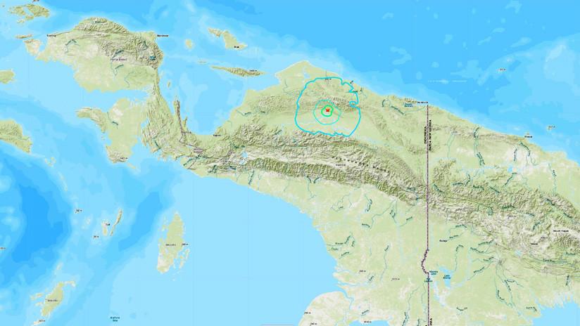 Un sismo de magnitud 5,6 sacude Indonesia