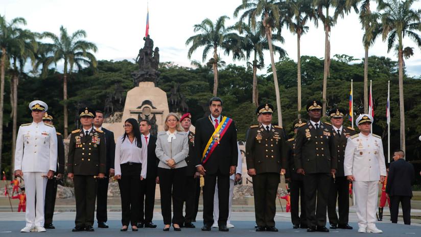 """""""Con toda la fuerza y contundencia"""": Maduro autoriza a la Fuerza Armada a responder a Iván Duque"""