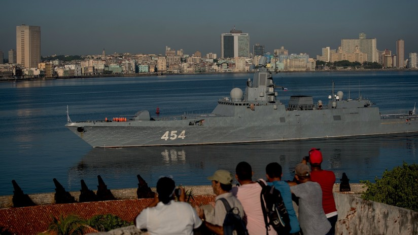 FOTOS: Buques de guerra rusos llegan a La Habana en medio de las tensiones entre Cuba y EE.UU.