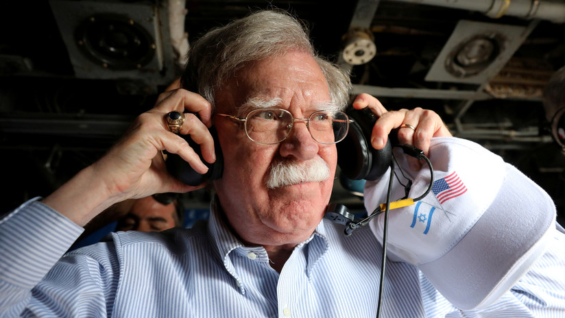 """Bolton califica de """"ensordecedor"""" el silencio de Irán sobre mantener negociaciones con EE.UU."""