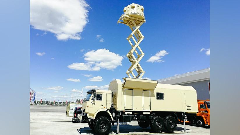 Rusia exhibe por primera vez su sistema de espionaje radiotécnico Post-3M