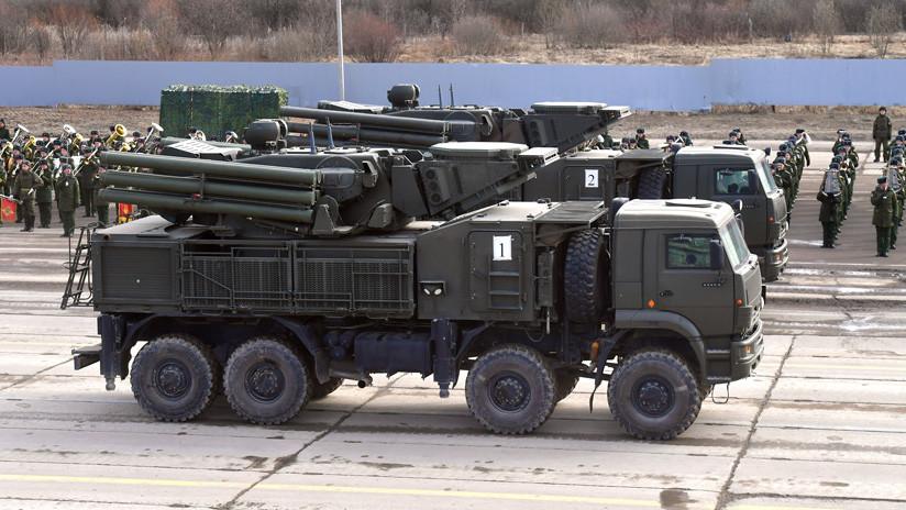 El avanzado cañón-misil ruso Pantsir-SM es exhibido por primera vez en público