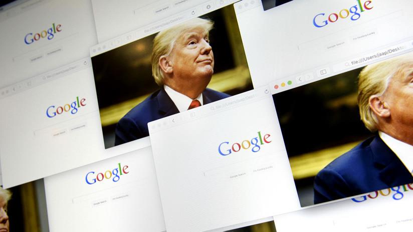 """Una filtración expone los supuestos esfuerzos de Google por """"prevenir una situación Trump"""" en 2020"""