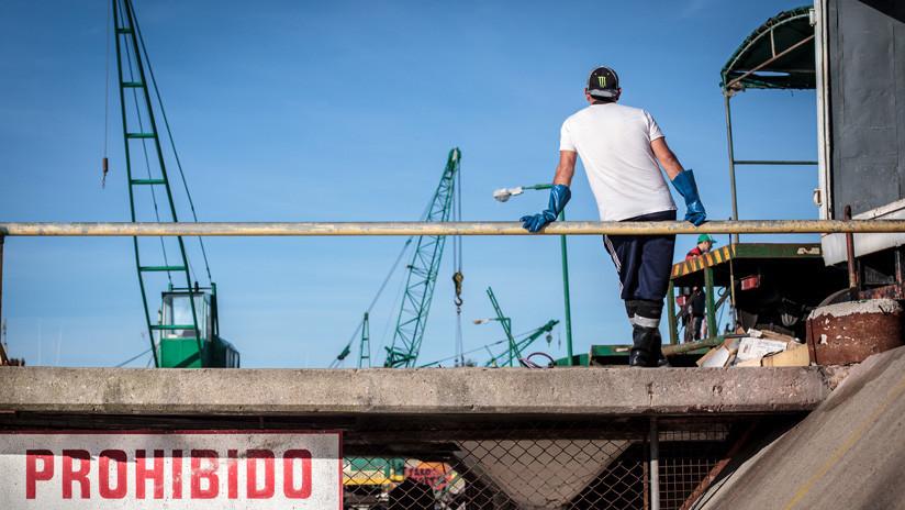 Se desploma la industria argentina en el primer cuatrimestre del año