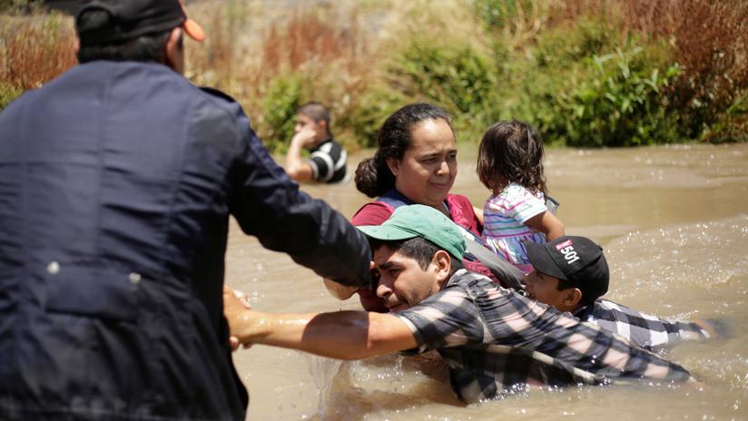 La ruta de los salvadoreños ahogados en el río Bravo