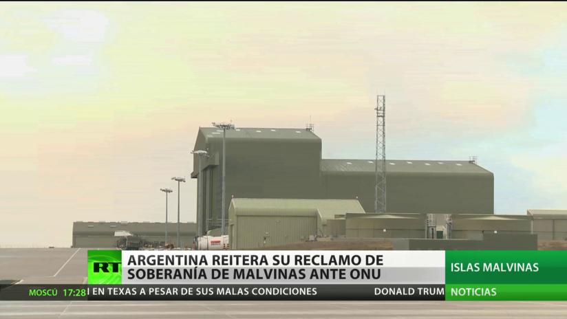 Argentina reitera ante la ONU su reclamo de soberanía sobre las islas Malvinas