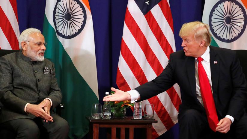 Exige Trump a India retirar aranceles a EU