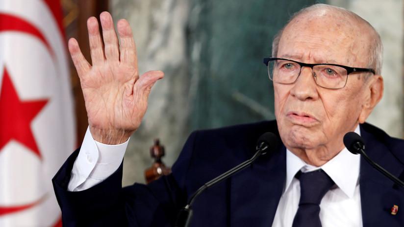 Medios de Túnez desmienten la noticia de la muerte de su presidente hospitalizado en estado cítico