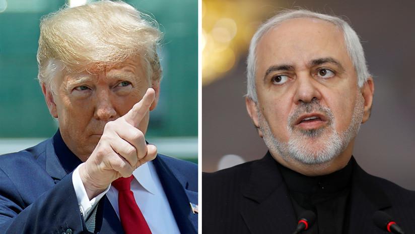 """Zarif responde a Trump: """"Quien comience la guerra no será el que la termine"""""""