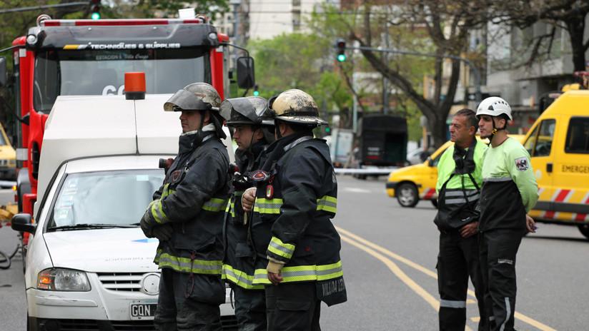 Alerta en Argentina por la explosión de un contenedor con ácido nítrico