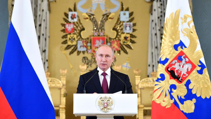"""Putin, sobre Venezuela: """"Allí no hay tropas nuestras"""""""