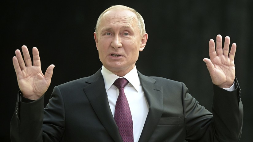 """Putin afirma que el liberalismo llegó a su fin: """"Está en contradicción con los intereses de la mayoría"""""""