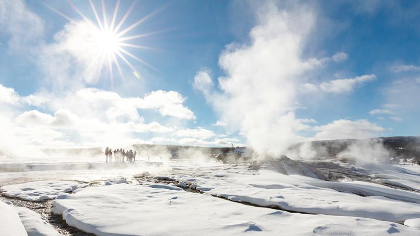 Registran un aumento en la actividad de un géiser en Yellowstone y los científicos no saben por qué