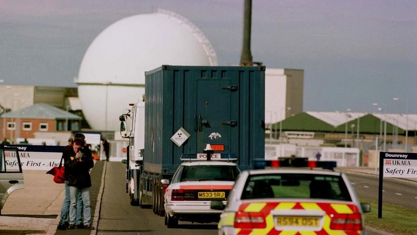 La contaminación radioactiva provoca la evacuación en una central nuclear de Reino Unido cerrada en 1994