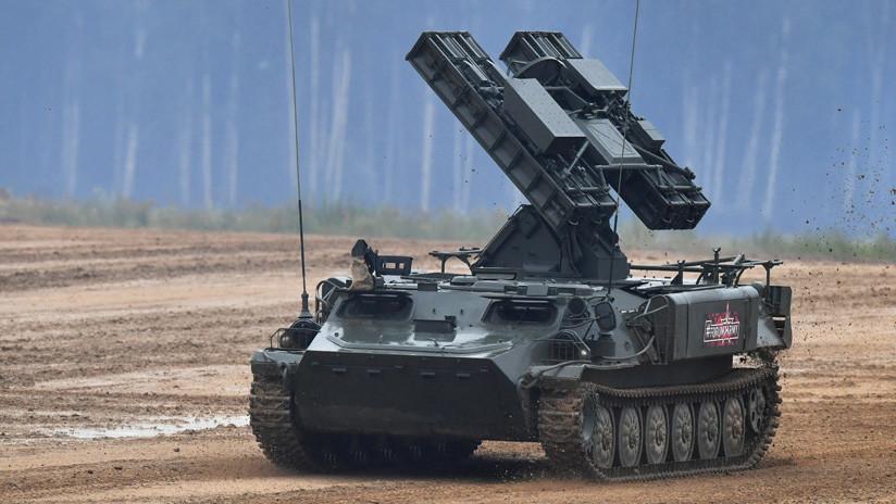 VIDEO: Demostración práctica de material bélico en la feria rusa de armamento Army 2019