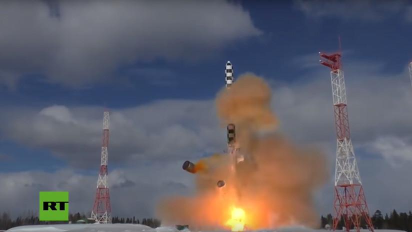 Se dan a conocer las especificaciones del nuevo misil intercontinental ruso Sarmat