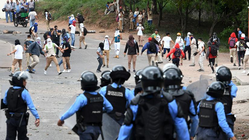 Honduras se disputa la calle en las manifestaciones por los 10 años del golpe contra Zelaya