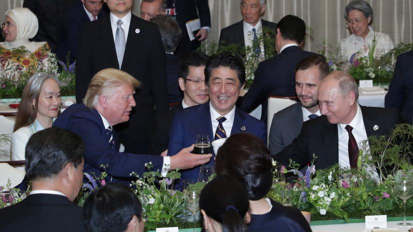 Explican por qué Putin llevó su propio termo a la cena del G20