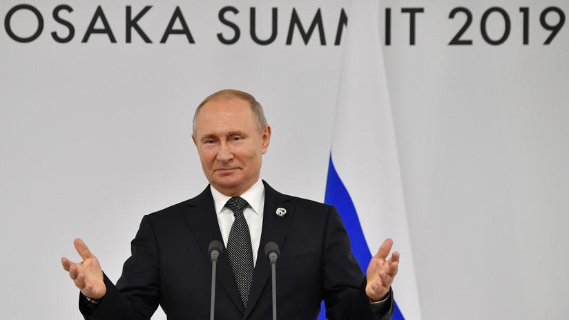 """Putin: """"Elton John se equivoca; en Rusia tratamos a la comunidad LGBT de forma ecuánime e imparcial"""""""