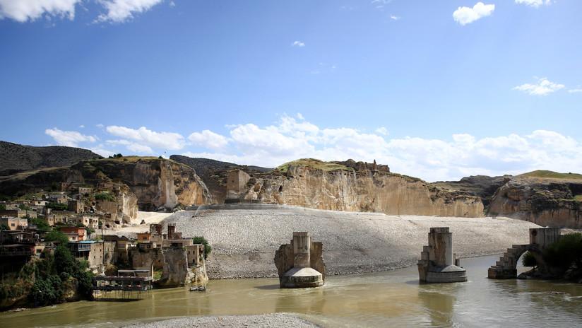 La sequía pone al descubierto en Irak un palacio de hace 3.400 años (VIDEO)
