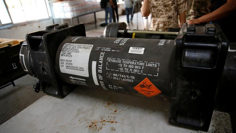 Hallan misiles de EE.UU. a disposición de las fuerzas del mariscal libio que busca retomar Trípoli
