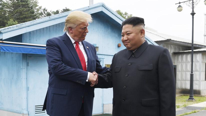 """Kim: """"Un apretón de manos con el presidente de EE.UU. en la zona de división de Corea es en sí mismo un símbolo de cambio"""""""