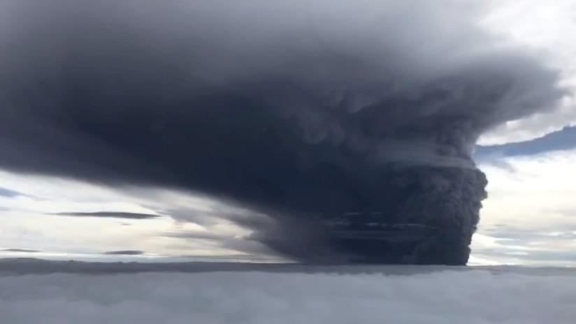 Papúa: Erupción volcánica lanza partículas peligrosas que causan enfermedades severas e incluso la muerte