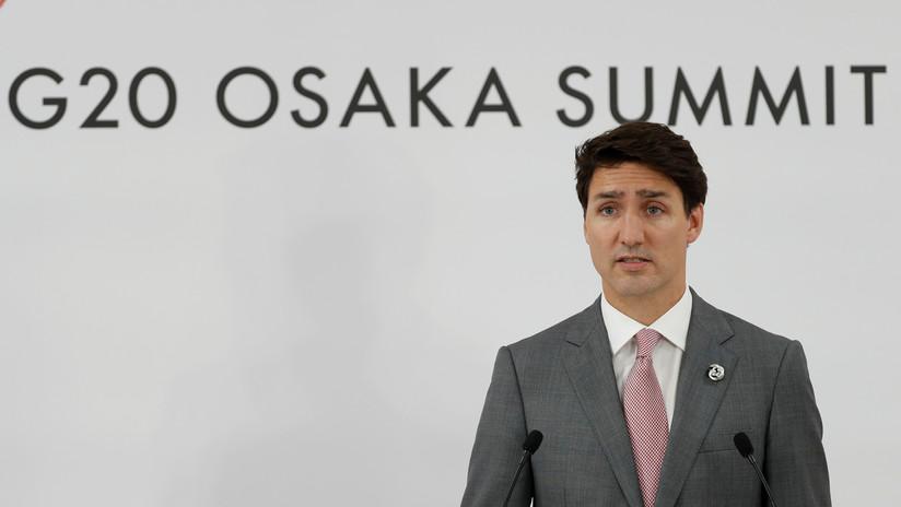 VIDEO: El incómodo momento vivido por Trudeau en el G20 cuando Bolsonaro 'le hace un feo'