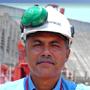 Jofre Padrino, responsable del seguimiento y pruebas de planta en Guri