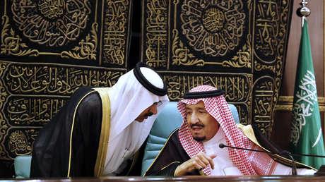 El rey de Arabia Saudita, Salmán bin Abdelaziz al Saúd, en la cumbre de la Organización para la Cooperación Islámica en La Meca, el 1 de junio de 2019.