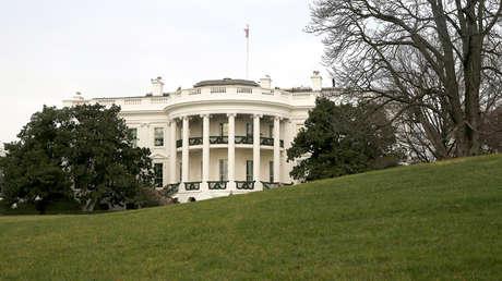 La Casa Blanca desde el jardín sur en Washington, EE.UU., el 4 de diciembre de 2014.