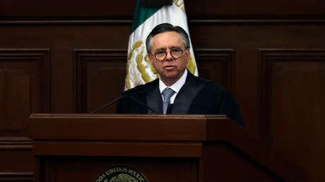 Eduardo Medina Mora, en la Suprema Corte de Justicia de México, Ciudad de México, el 17 de marzo de 2015.