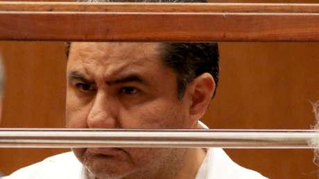Naasón Joaquín García de la Iglesia 'Luz del Mundo' en una corte de Los Ángeles, 5 de junio de 2019.