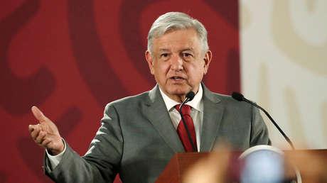 El presidente mexicano, Andrés Manuel López Obrador, en Ciudad de México, el 31 de mayo de 2019