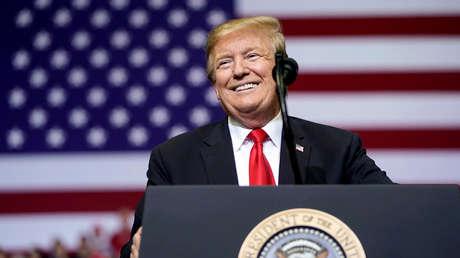 Donald Trump durante un evento en Grand Rapids, en el estado de Michigan, Estados Unidos, en una imagen del 28 de marzo de 2019.