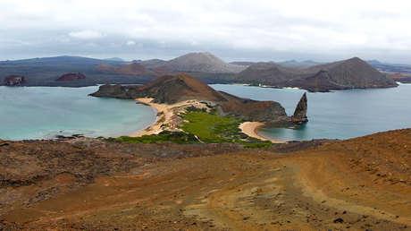 Isla Bartolomé en Galápagos, 23 de agosto de 2013.